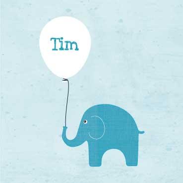 Geboortekaart-Tim-voorkant-kaartje-van-koen